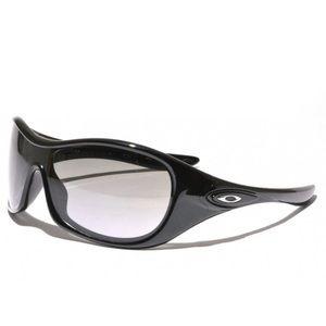 Oakley Speechless Polished Black Sunglasses